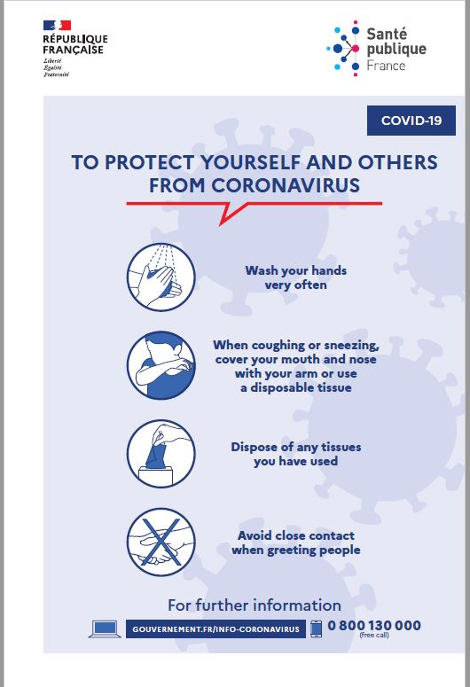 CORONAVIRUS / COVID-19 : to protect yourself and others